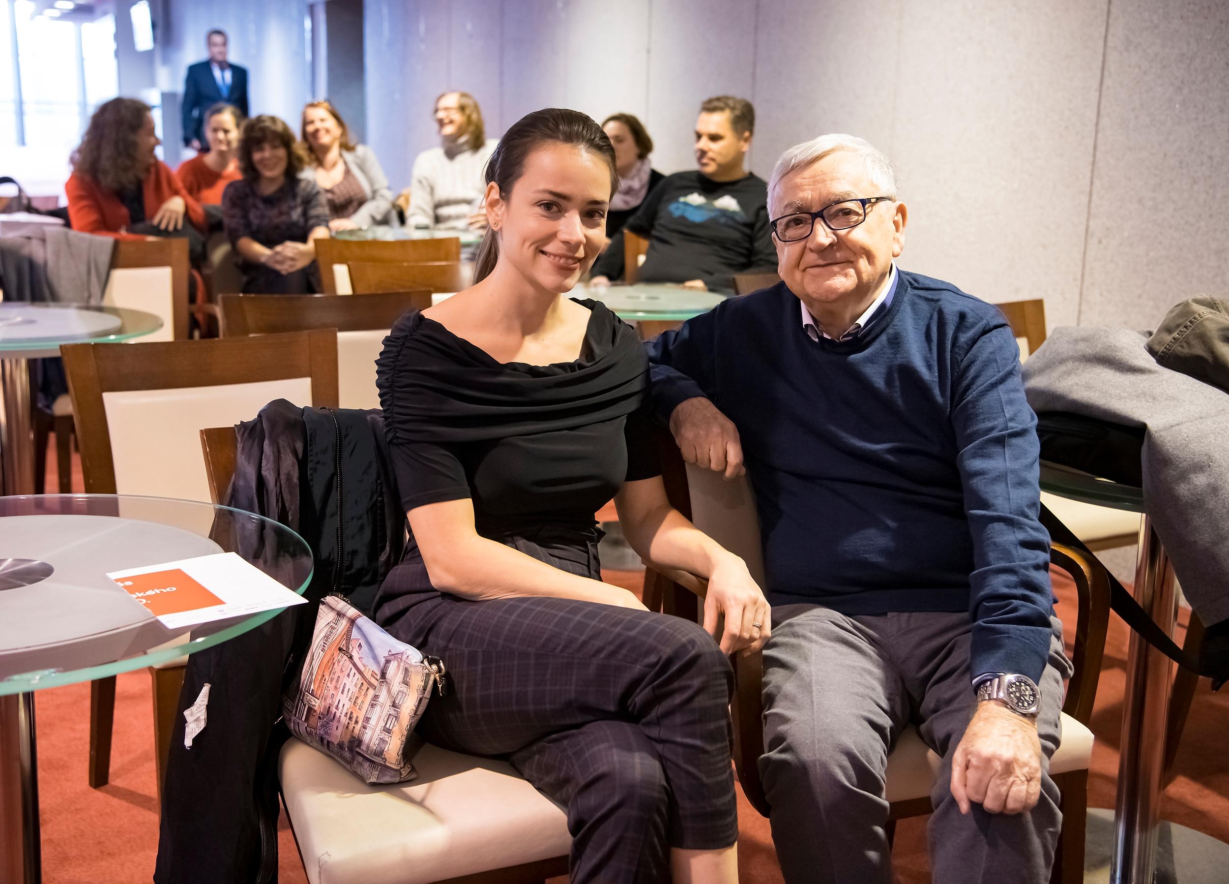 Gabriela Marcinková a Stanislav Štepka ako ambasádori Roku slovenského divadla. (Zdroj: René Miko)